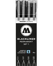 MOLOTOW Blackliner Marker - 4er Set