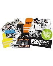Montana Sticker Set #1