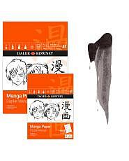 Daler Rowney Manga Art Paper - Zeichenblock A4